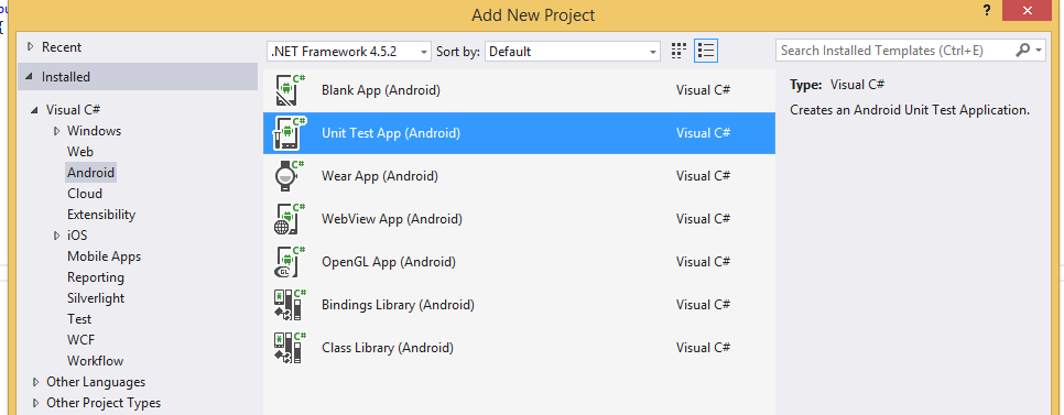 Darrell's Blog - Automating Xamarin Android Unit Test Apps